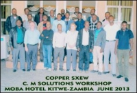 Kitwe is Host to World Class Copper SXEW Workshop