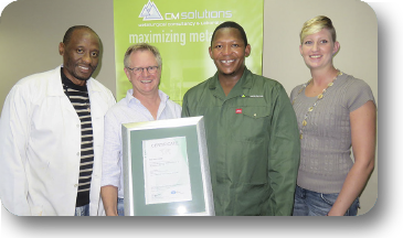 CM Solutions awarded ISO 9001:2015 & 14001